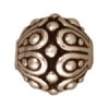 Bead Casbah Round Antique Silver